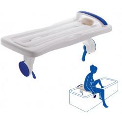 Planche de bain à ventouses
