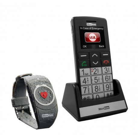 t l phone gsm grosses touches bracelet d 39 urgence et. Black Bedroom Furniture Sets. Home Design Ideas