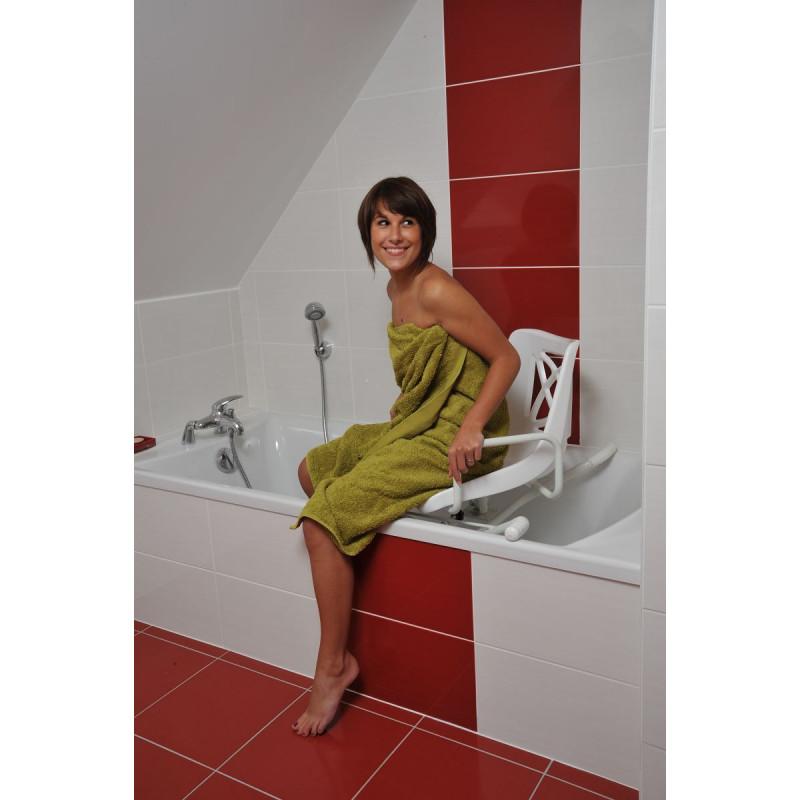 si ge de bain pivotant. Black Bedroom Furniture Sets. Home Design Ideas