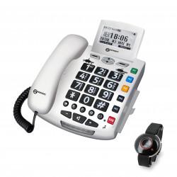 Téléphone avec appel d'urgence Serenities Geemarc