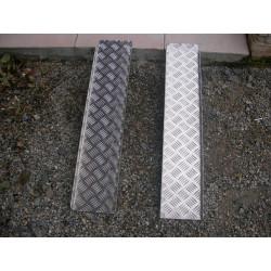Paire de rampes aluminium 85 cm