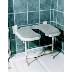 si ges de douches fixation murale pour senior pmr handicap matergo. Black Bedroom Furniture Sets. Home Design Ideas