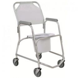 chaises de douche pousser roulettes pour prendre une douche matergo. Black Bedroom Furniture Sets. Home Design Ideas