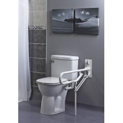 Barre d'appui WC pro pied fixe