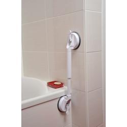barre de maintien baignoire les modles peuvent intgrer une assise escamotable une barre de. Black Bedroom Furniture Sets. Home Design Ideas