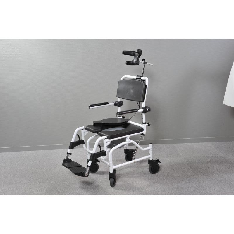 fauteuil de douche basculable tilt confort absolu pour la toilette. Black Bedroom Furniture Sets. Home Design Ideas