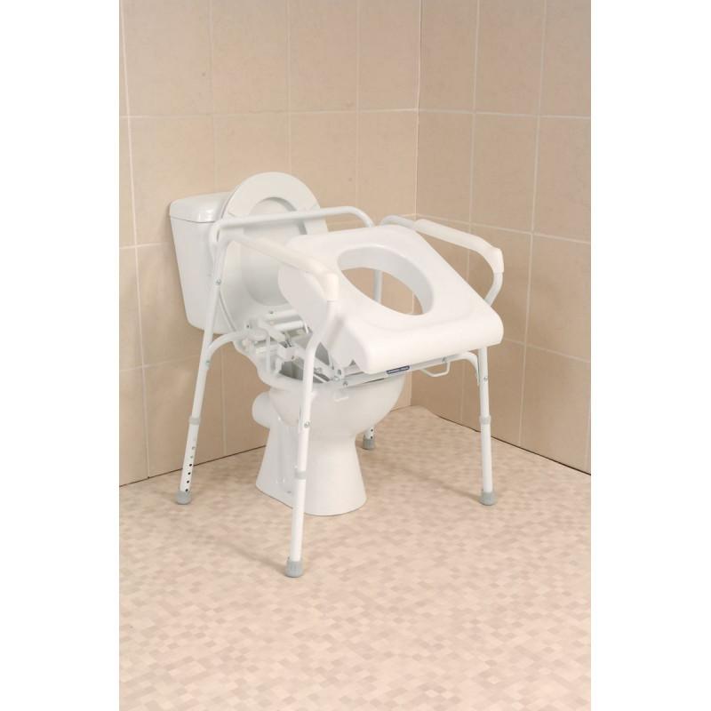 Si ge releveur de toilettes pour se lever s 39 asseoir en - Rehausseur toilette pour adulte ...