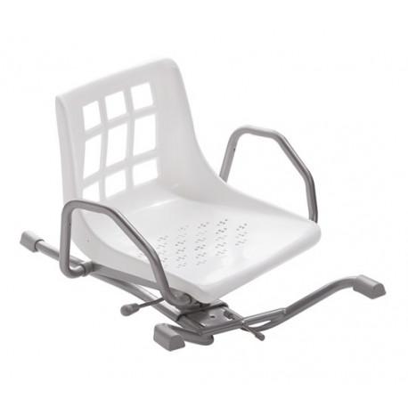 si ge de baignoire pivotant pour entrer assis dans la. Black Bedroom Furniture Sets. Home Design Ideas
