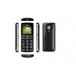 Téléphone GSM grosses touches - fonction loupe et touche SOS