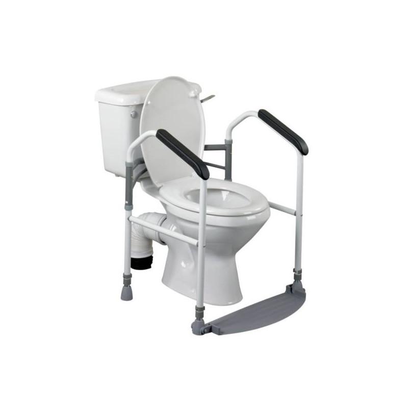 Cadre de toilette pliant buckingham - Rehausseur toilette pour adulte ...