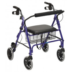 ROLLATOR 4 ROUES GAMME XXL