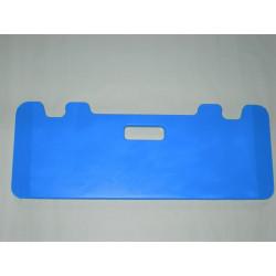 Planche de transfert avec encoches coloris bleu