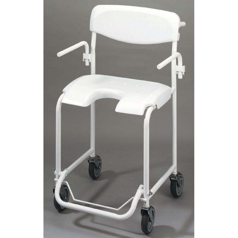 chaise de douche pousser aliz invacare. Black Bedroom Furniture Sets. Home Design Ideas