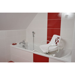 Siège de bain pivotant