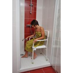 Chaise de douche pliante Tobago