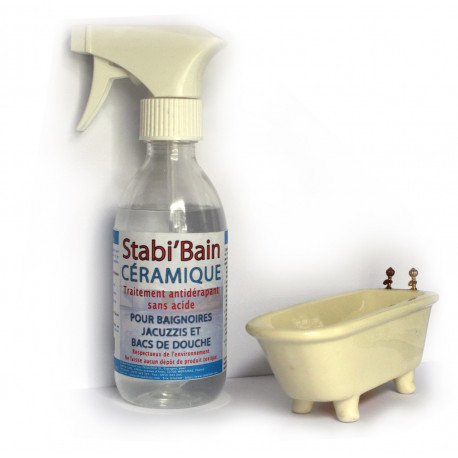 Stabibain Plus Besoin De Tapis Antidérapant Dans La Baignoire