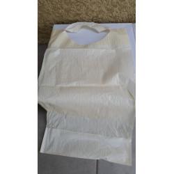 Bavoir 38 X 68 cm 2 plis avec poches de 10 cm par 100