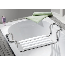 Siège de baignoire en inox