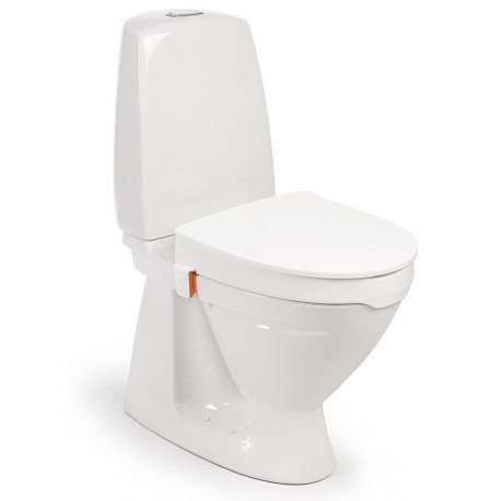Réhausseur de WC avec couvercle Hiloo 10 cm