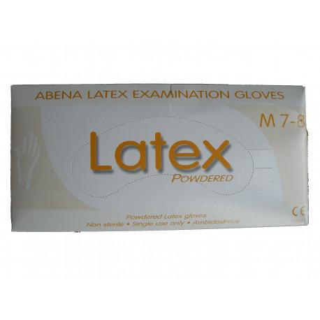 Gants latex taille 8 - 9