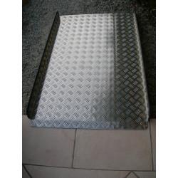 Rampe d'accès aluminium longueur 1 m 20 X 77 cm