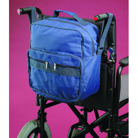 Sac adaptable pour fauteuil roulant