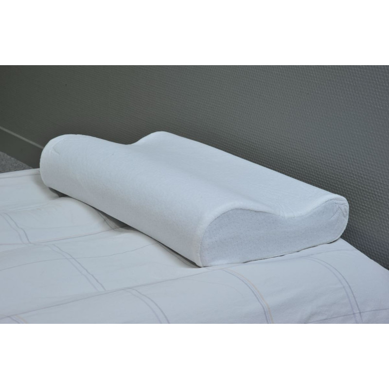 oreiller ergonomique 47 x 30 cm. Black Bedroom Furniture Sets. Home Design Ideas