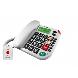 Téléphone grosses touches avec appel d'urgence