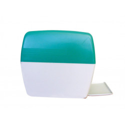 Dérouleur plastique pour tampons ouate