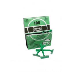 Rasoirs pré opératoires Wilkinson 1 lame - boîte de 100