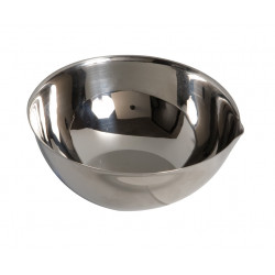 Cupule inox diamètre 80 mm