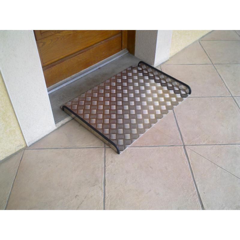 rampe d 39 acc s aluminium 50 cm x 77 cm