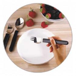 Couteau fourchette pour gaucher
