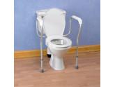Cadre de toilette fixe