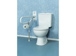barres de maintien pour les abords des wc avec fixation murale et pied matergo. Black Bedroom Furniture Sets. Home Design Ideas